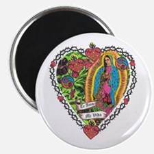 Guadalupe Heart Magnet
