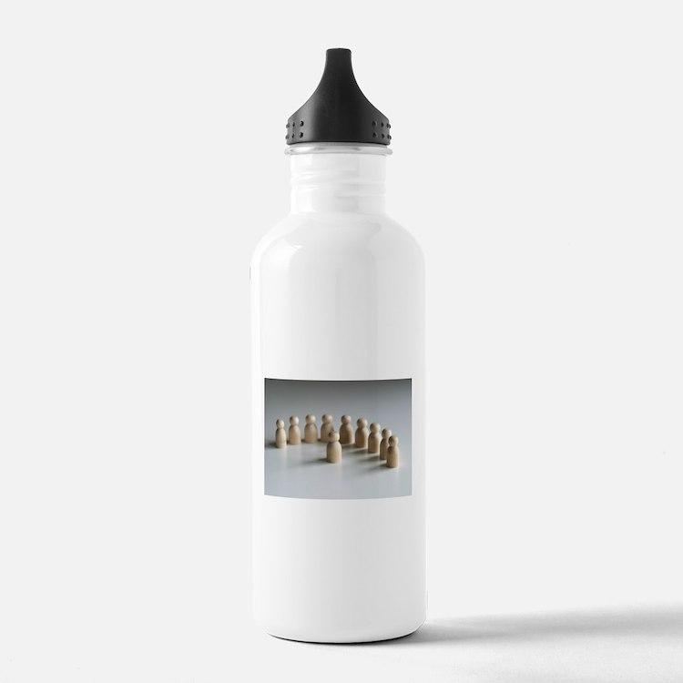 Talking To The Men Water Bottle
