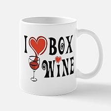 I Heart Box Wine Mug