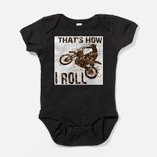 Cute Dirt biker Baby Bodysuit