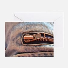 Funny Zipper Greeting Card