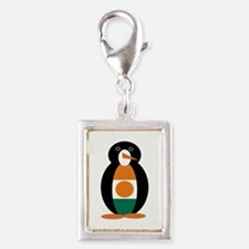 Penguin of Niger Silver Portrait Charm