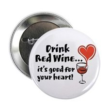 Red Wine Button