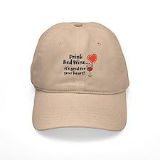 Red Wine Baseball Cap
