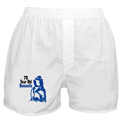 70 Year Old Romantic, 70th Boxer Shorts