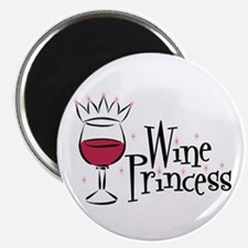 Wine Princess Magnet