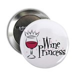 Wine Princess Button