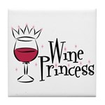 Wine Princess Tile Coaster