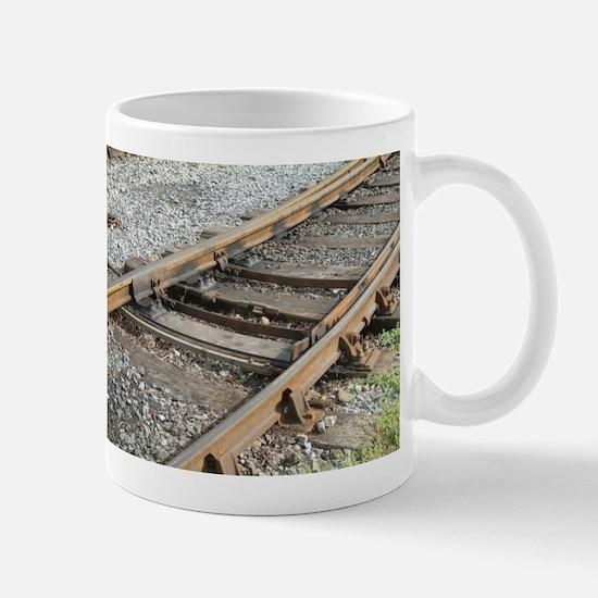 Train Track Mugs