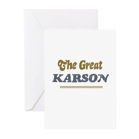 Karson Greeting Cards (Pk of 10)