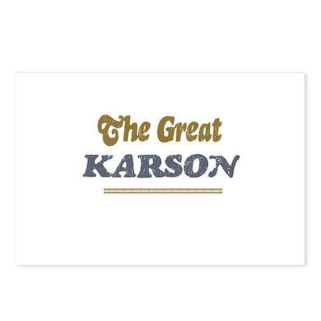 Karson Postcards (Package of 8)
