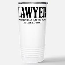 Funny Lawyer Travel Mug