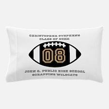 Custom Football Player Name | Class | Pillow Case