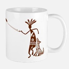 Kokopelli and Dog Mugs