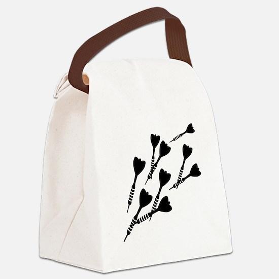 Darts sports Canvas Lunch Bag