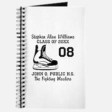 Custom Hockey Player Name | Number | Team Journal