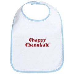 Chappy Chanukah Bib