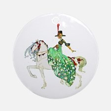 Kay Nielsen - Princess Minotte Round Ornament