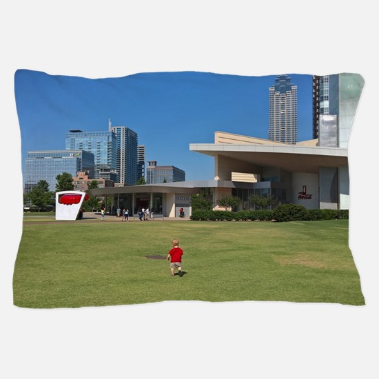 Unique Atlanta skyline Pillow Case