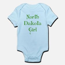 North Dakota Girl Infant Bodysuit
