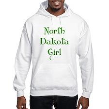 North Dakota Girl Hoodie