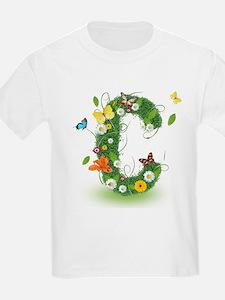 Monogram Letter C T-Shirt