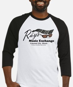 raysmusic_trans_black Baseball Jersey