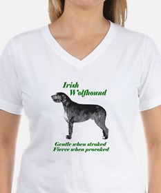Irish Wolfhound Gentle when stroked T-Shirt
