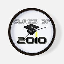 Graduate 2010 Wall Clock