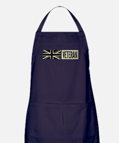 British Military: Veteran (Black Flag Apron (dark)