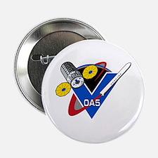 """NASA OA-5 Logo 2.25"""" Button"""