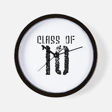 Class of 10 Wall Clock