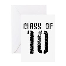 Class of 10 Greeting Card