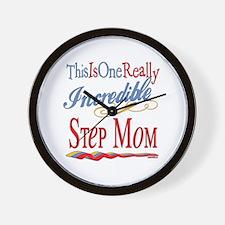 Incredible Step Mom Wall Clock