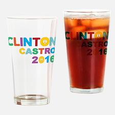Clinton Castro 2016 Drinking Glass