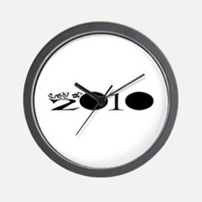 2010 Wall Clock