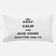 Cute Bacon Pillow Case