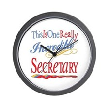 Incredible Secretary Wall Clock