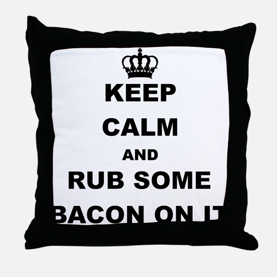 Cute Meat lover Throw Pillow