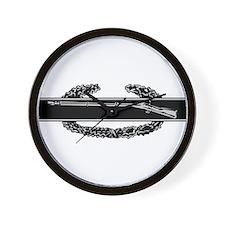 Combat Infantry Badge Wall Clock
