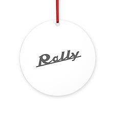 Rally Ornament (Round)