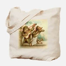 Vintage Monkeys Tote Bag