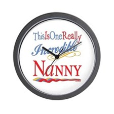 Incredible Nanny Wall Clock