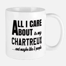 All I care about is my Chartreux Small Small Mug