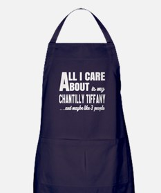 All I care about is my Chantilly Tiff Apron (dark)
