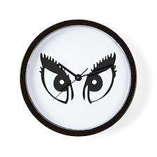 Girly Eyes Wall Clock