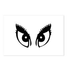 Girly Eyes Postcards (Package of 8)