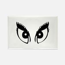 Girly Eyes Rectangle Magnet