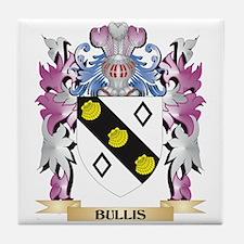 Bullis Coat of Arms (Family Crest) Tile Coaster