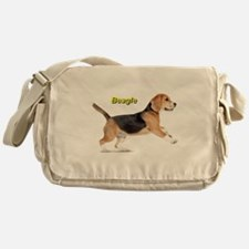 Cute Beagle Messenger Bag